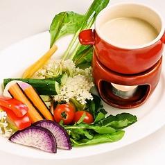 ■とろとろチーズががクセになる!新鮮野菜使用■房総野菜とスカモルツァチーズの窯焼き 880円(税抜)